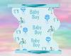 Baby Boy Deco Curve
