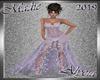 !a Alycia Lilac Gown