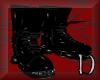 Goth biker boots