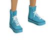 Powder Blue Shoes