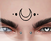 .NEW MOON. face tat I