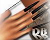 Long Black Cat Nails!