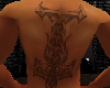 K Hammer Back Tattoo