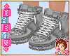 ! Kids Silver Shoes *