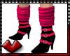 (V) Boots w Sox Burst