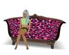 leopard american sofa