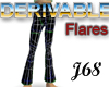J68 Flared Jeans