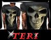 Ter M T-shirt SKULL Gray
