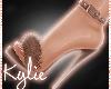 Brown Fur Heels