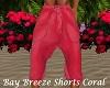 Bay Breeze Shorts Coral