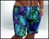 Tropical Blue Shorts