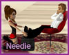 Amore Red Foot Massage
