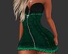 (CR) Green Jeans Dress