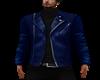 Blue Jaket Leather