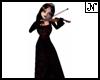 Wolfie Playing Violin