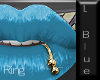 Pouty Ring Ice Blue