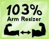 Arm Scaler 103%