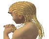 Blonde Afro Braids (M)