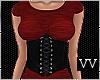Corset Dress Red RLL