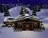 Desi Snowy Cabin