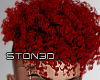 Red Micro Curls '19