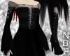 Ripped corset dress