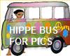 HIPPIE BUS PIC POSER