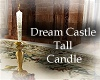 Dream Castle Tall Candle