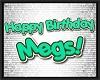 MEGS birthday floor