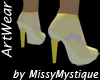 Myst Short Boot Yellow