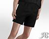 Blk Loose Shorts
