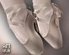 Broken doll ballet flat