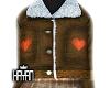 [Y4N] heart brown jacket