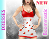Red Tab Dress BM