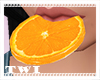 Mouth Orange Slice