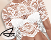 ~A: Delicate Lace Med