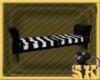 Zebra Club bench