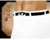 [XDX] White Five Pants