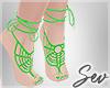 *S Irish Lace Feet