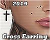 Cross Earing Blk R