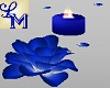 !LM Blue Candles & Roses