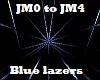 Blue lazers FX