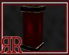 RR Red Black Deco Pillar