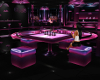 Glow Ruby Bar Table