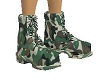 Military-Camo Boots