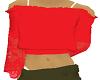 [A] latina top red