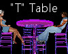 """""""T"""" Club Table for 4"""