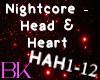 Nightcore - Head & Heart