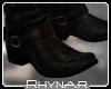 R' Biker Boots brown