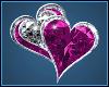 Pink Heart Sticker